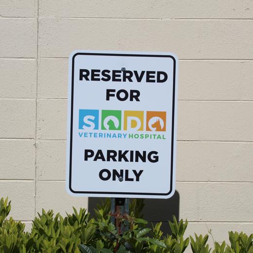 sodo vet parking