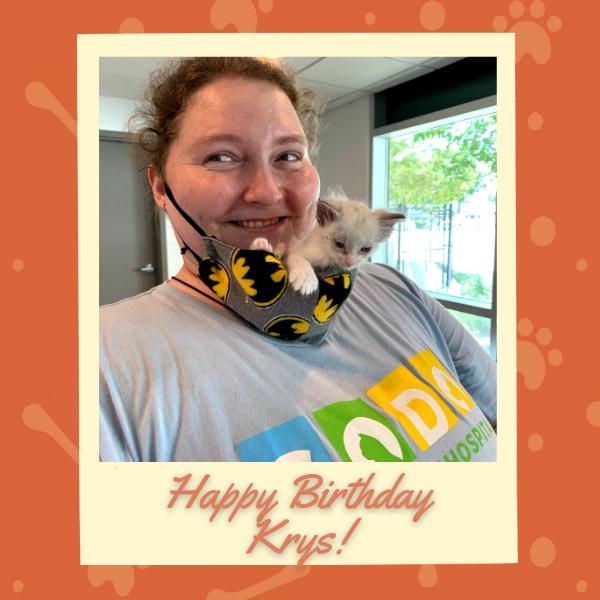 happy birthday krys sodo veterinary hospital